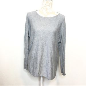 Michael Kors Long Sleeve Tunic Sweater Top Large